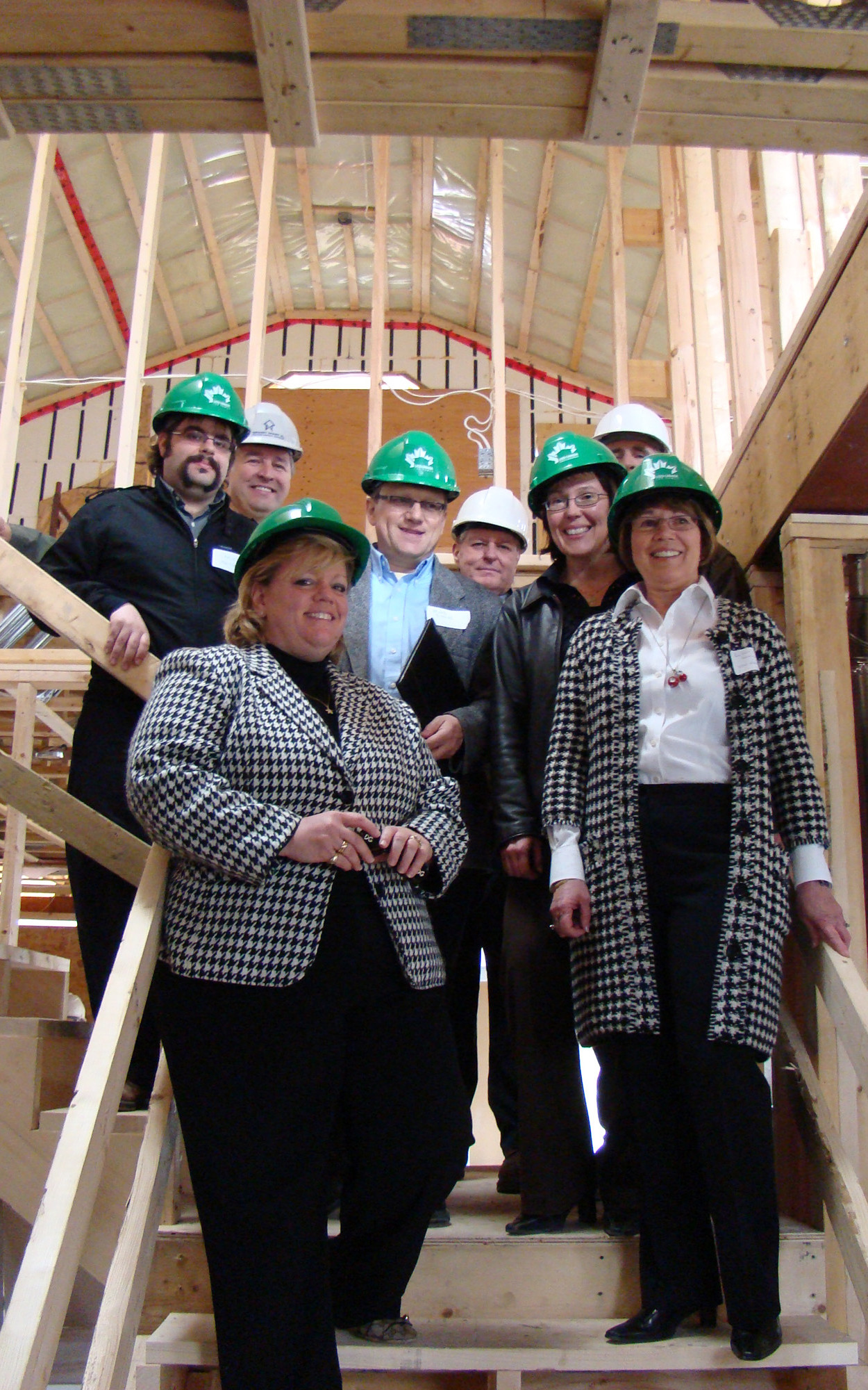 CaGBC (Ottawa Chapter) Construction Visit Showcasing Charlebois Residence's Sustainable Features