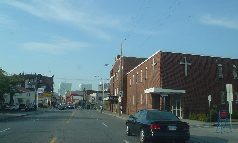 Looking North on Bank Street
