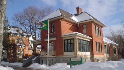 Exterior of the Brazilian Embassy