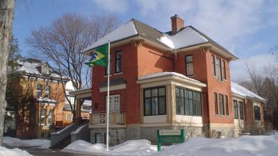 Exterior of the Brazilian Embassy