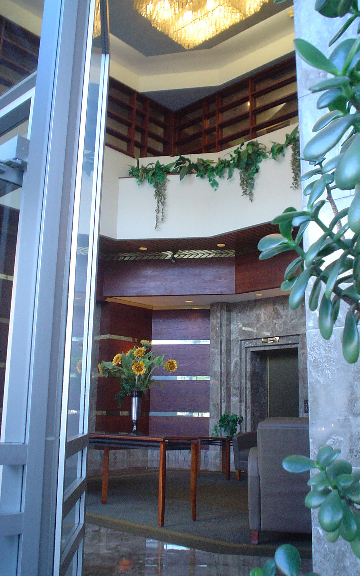 View Entering the St.George's Residential Lobby