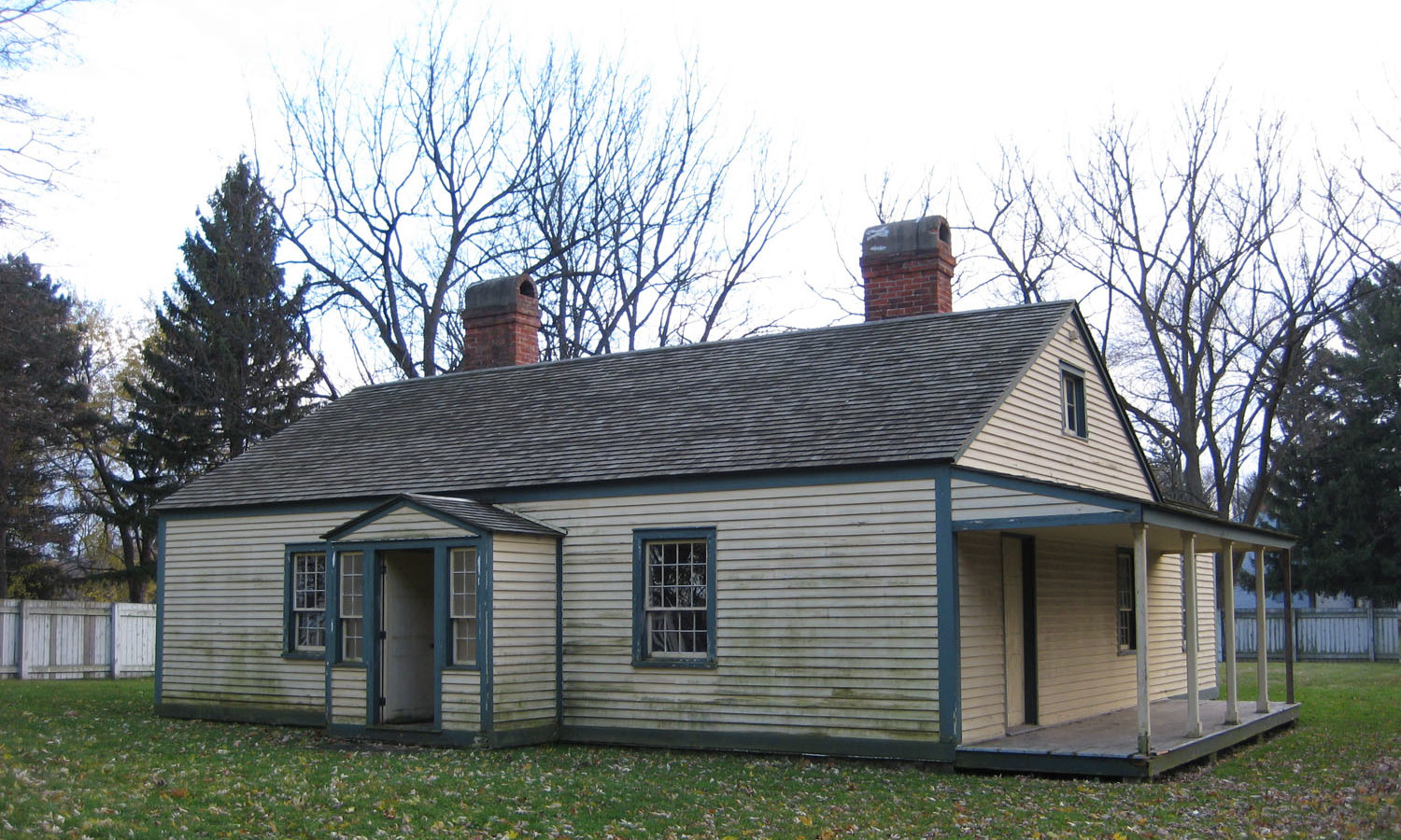 Junior Commissariat Officer's Quarters North and West Elevations