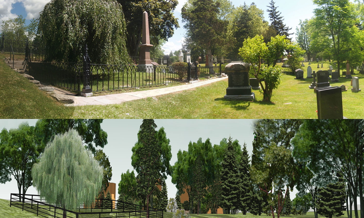 Purdy's Mills – Cataraqui Cemetery / Sir John A. Macdonald Gravesite NHSC Heritage Image Assessment