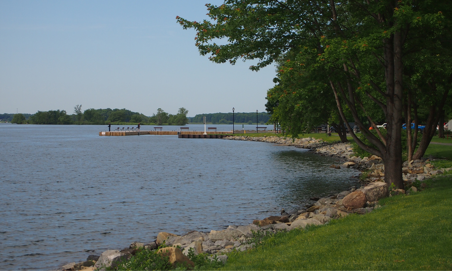 Morrisburg Waterfront Shoreline - Existing Condition