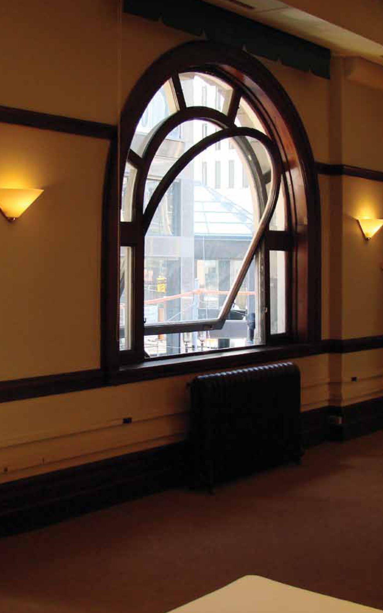 Operable windows, 10 Adelaide Street, Toronto, Ontario Heritage Trust (image source: Ontario Heritage Trust)