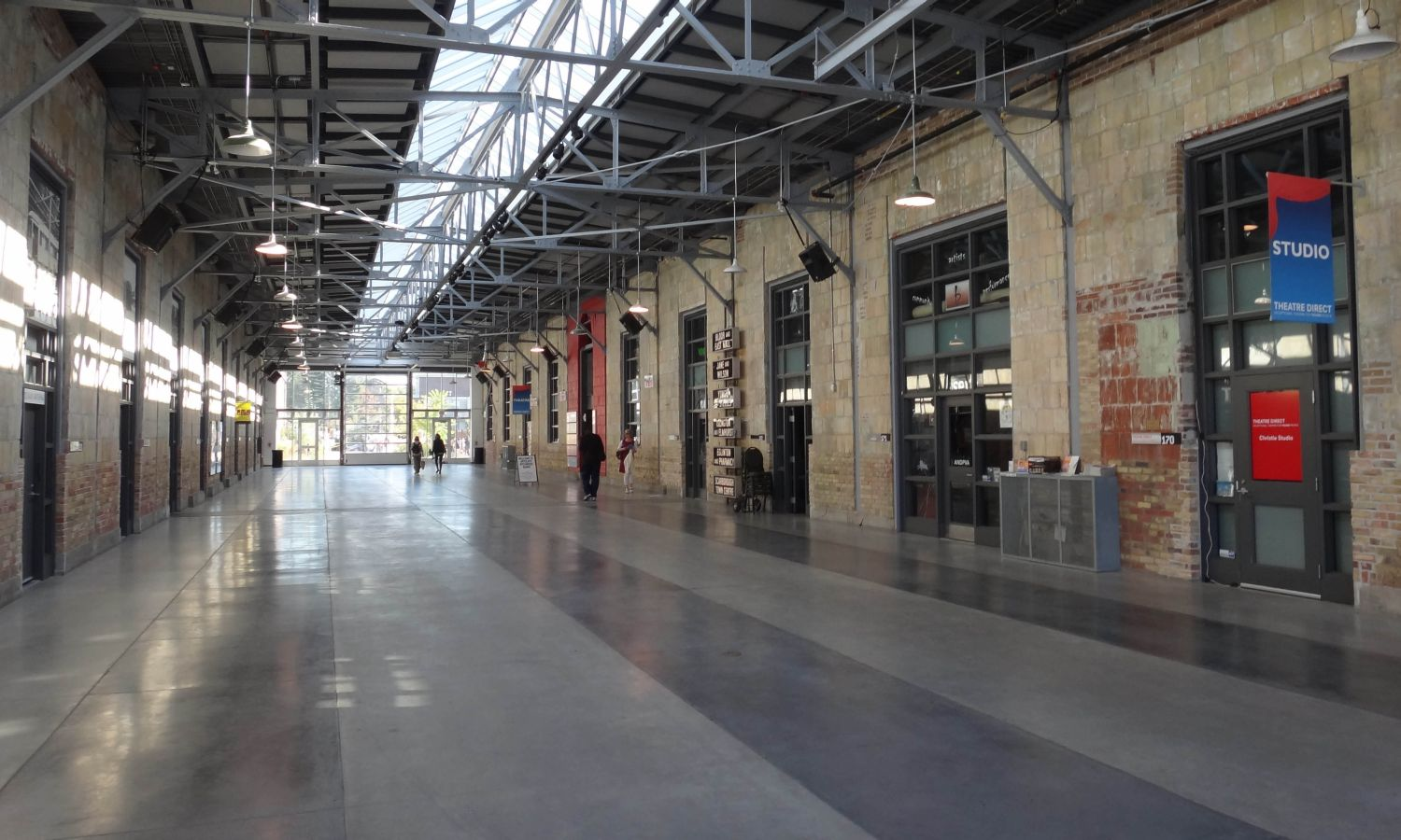 Adaptive reuse, Wynchwood Barns, Toronto, DTAH (image source: Province of Ontario)